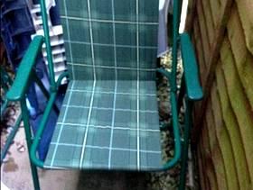 Freecycle 2 X foldaway garden chairs