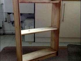 Freecycle Wooden Shelf unit