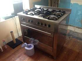 Freecycle Old gas cooker
