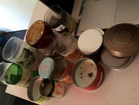 Freecycle Used soy candles