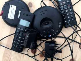 Freecycle BT Home phone + extra handset