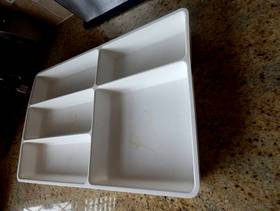 Freecycle Cutlery trays- ikea