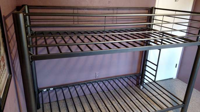 Freelywheely Metal Bunk Bed Frame From American Signature Furniture