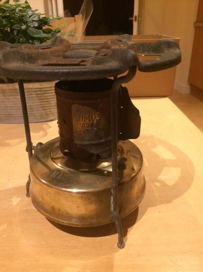 FreelyWheely: Vintage Original Swedish PRIMUS stove - from the 1950s