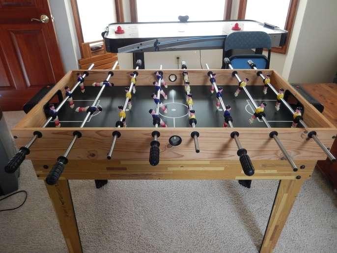 Hedstrom Foosball Table / Mini Pool Table Combo