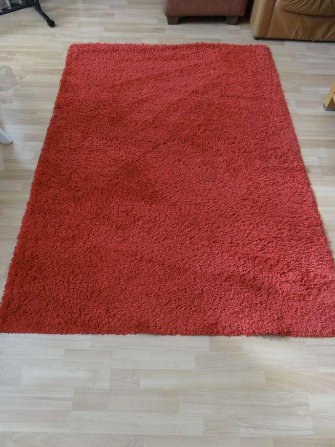 Freelywheely Large Red Rug