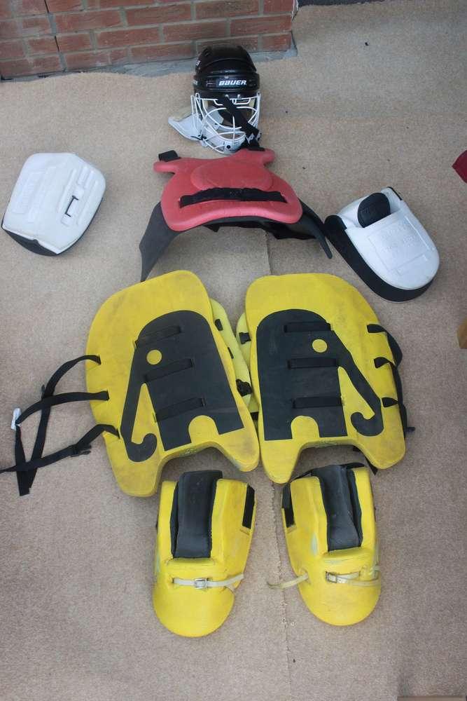 FreelyWheely: Ladies Field Hockey Goalie Kit