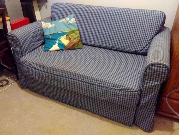 Beste FreelyWheely: Ikea Hagalund sofa bed VM-14