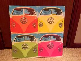 Freecycle Camper van canvas picture