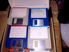 Freecycle 2 box's of RETRO FLOPPY DISC's