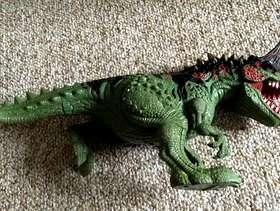 Freecycle Dinosaur toy