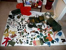 Freecycle 1970's vintage action men, vehicles & accessories bundle, in various ...