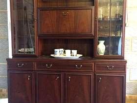 Freecycle Mahogany, floor standing, wall cabinet