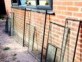 Freecycle Glass panels