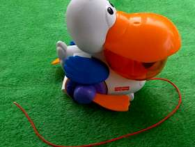 Freecycle Fisher Price Pull and Pop Pelican
