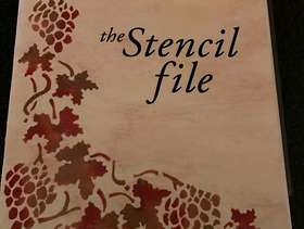 Freecycle Book of stencils