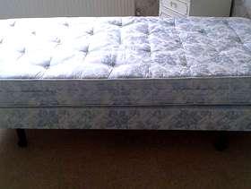 Freecycle Single divan bed