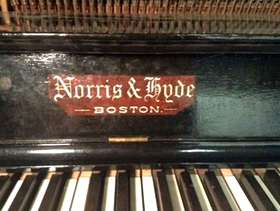 Freecycle Norris and Hyde piano