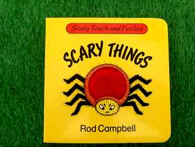 Freecycle Brand New Scary Things Book