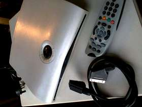 Freecycle Old style sky box/remote/grey £5