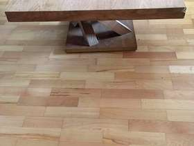 Freecycle Wooden square coffee table