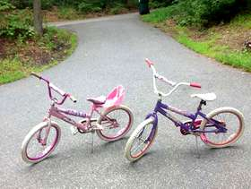 Freecycle Two girls' bikes