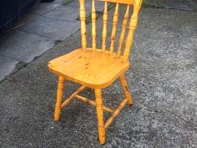 Freecycle 6 wooden chairs