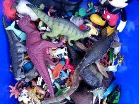 Freecycle Plastic animals