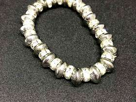 Freecycle Sterling Silver and Cubic Zirconia Bracelet
