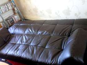 Freecycle Free Sofa bed, three seater, good condition
