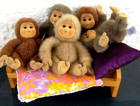 Freecycle Five Little Monkeys Jumping on the Bed