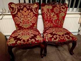 Freecycle Fireside chairs a project