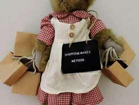 Freecycle Shopping Bear
