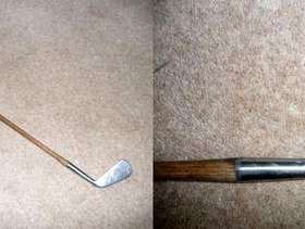 Freecycle Vintage Antique Forgan St Andrews Gold Medal 4 Iron
