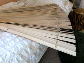 Freecycle Wooden blind