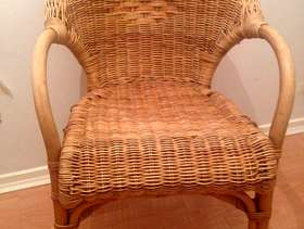 Freecycle Wicker chair