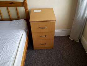 Freecycle Bedside tables