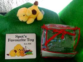 Freecycle Spots Favourite Toy a board book by Eric Hill and ...