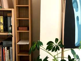 Freecycle Large wooden CD rack holds up to 120 Cd's