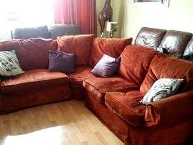 Freecycle Corner sofa