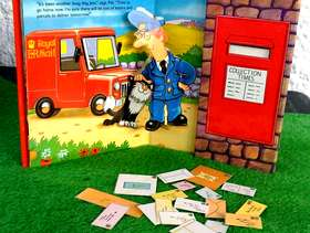 Freecycle Brand New Postman Pat and Jess the cat set
