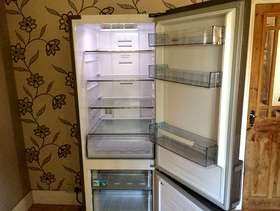 Freecycle Kenwood frost free stainless steel fridge freezer