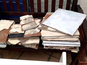 Freecycle Used ceramic floor tiles