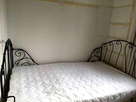 Freecycle Antique Iron Bed