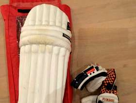 Freecycle Cricket pads