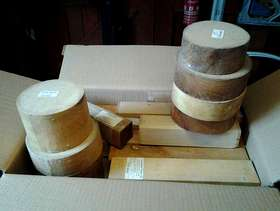 Freecycle Woodturning Blanks