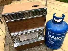 Freecycle Calor gas heater