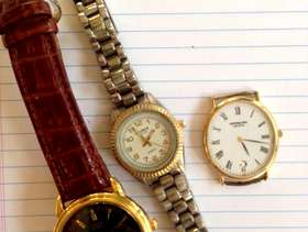 Freecycle 3 watches, non-working