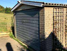 Freecycle Concrete sectional garage