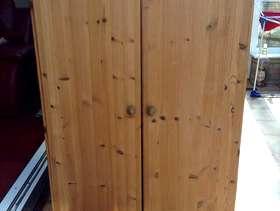 Freecycle Small wooden wardrobe